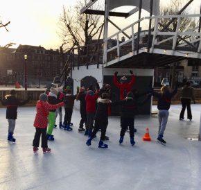 schaatsles kinderen Amsterdam